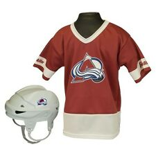 Colorado Avalanche Hockey Uniform Set for Kids - Ages 5-9