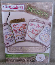 "Anita Goodesign Projects ""Drawstring Bags"" 16 Designs ~ **NEW**"