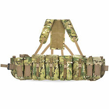 Bulldog Lightweight Airborne Webbing Set Para SF 4 Pouch With Yoke MTP Multicam