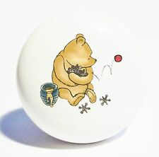 CLASSIC POOH JUMPING JACKS HOME DECOR CERAMIC KITCHEN  KNOB DRAWER CABINET PULL