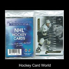 (HCW) 2003-04 In The Game Toronto Star Pack - Mario Lemieux Foil + 4 cards
