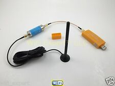 ADS-B 1090MHz PRO USB Stick + Band-pass SMA Filter + Car Antenna for FlightAware
