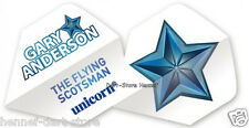 "3 Flights UNICORN ""Gary Anderson Star"", weiß"