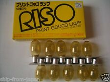 RISO Print Gocco [ 10 ] x Flash Light Lamp bulb PG-5 PG-11 Arts Screen printer