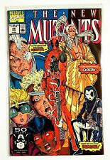 NEW MUTANTS #98, FIRST DEADPOOL + Domino, Rob Liefeld (1991, Marvel) VF