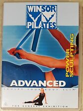 Winsor Pilates - Power Sculpting With Resistance (Advanced) DVD LIKE NEW