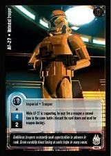 Decipher Star Wars Jedi Knights TCG 58C AF-27 Motivated Trooper X2 MINT