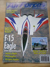 AIR FORCES MONTHLY AUG 1997 F-15 EAGLE STRIKE FLANKER NIGHT HUNTER AUSTRALIAN AF