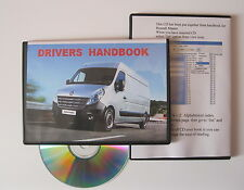 RENAULT MASTER OWNERS MANUAL HANDBOOK - CD 2010 2011 2012 2013 SPECIFICATION