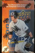 2009 UPPER DECK SERIES 2 MLB BASEBALL HOBBY BOX