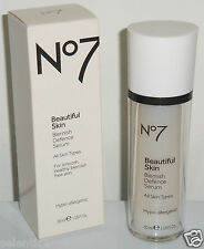 *BRAND NEW IN BOX* Boots No 7 BEAUTIFUL SKIN Blemish Defence Serum 1floz(30ml)