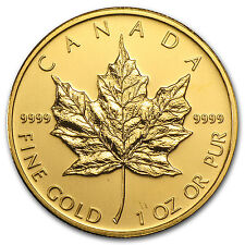 2009 1 oz Gold Canadian Maple Leaf Coin - Brilliant Uncirculated - SKU #46352