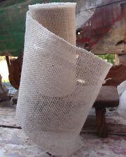 "9"" Burlap Ribbon 10 Yard Roll Finished Edges (4 colors)"