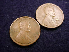 1919-S & 1921-S LINCOLN CENTS NICE COINS!   #50