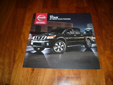 Nissan Titan SV VALUE TRUCK PACKAGE Prospekt 2015