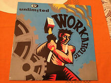 "2 UNLIMITED - Workaholic / Get Ready For This ('92 remix) UK 12"" CLASSIC TECHNO"