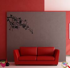 Wall Sticker Tree Branch Floral Cool Modern Decor for Bedroom z1361