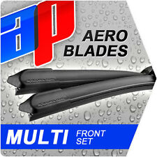 "24"" 19"" Vw Golf 1.9 Tdi Aero Flat Windscreen Wiper Blades Mf17484"