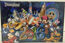 Disney Parks Authentic Disneyland Resort 2016 Photo Album Holds 100 4 x 6 Photos