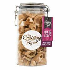 The Snaffling Pig Co Pigs In Blankets Pork Crackling Gifting Jar 275g