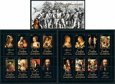Central Africa Art German Albrecht Durer complete MNH stamp set 15 sheets