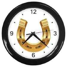 Reloj de pared Zapato De Caballo De Oro Lucky encanto ** ** Super Regalo Artículo