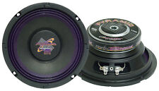 "NEW Pyramid WH68 6"" 200 Watt High Power Paper Cone 8 Ohm Subwoofer"