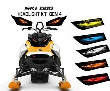 SKI DOO REV GEN 4 X SUMMIT RENEGADE  MXZ TNT 850 E HEADLIGHT  DECAL STICKER 2