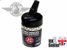 Airsoft Accuracy International Precision 0.4g 1000 Bottle White 6mm BB 18413 Asg
