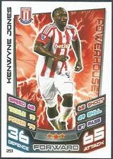 TOPPS MATCH ATTAX 2012-13- #251-STOKE CITY-KENWYNE JONES