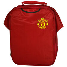 MANCHESTER UNITED  FC KIT SHIRT INSULATED SCHOOL LUNCH BAG BOX NEW GIFT XMAS