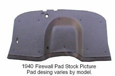 1938 1940 Graham Sharknose Firewall Pad