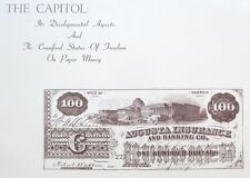 1971 Reference Book: US Capitol & Crawford Statue on Paper Money - John Muscalus