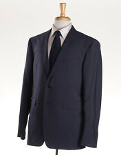 NWT $1995 BURBERRY LONDON Slate Blue 'Millbank' Wool Suit Slim-Fit 44 R (Eu 54)