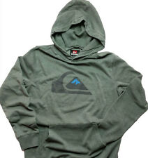 NWT Quiksilver Rooney Gray Graphic Hooded Sweatshirt Long Sleeve  X-Large   P04