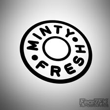 MINTY FRESH POLO CAR VAN DECAL STICKER JDM EURO VAG BIKE 4X4 CARAVAN CAMPER JEEP