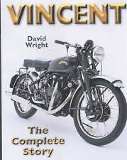 Vincent: The Complete Story by David Wright (Hardback, 2002)