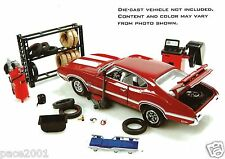 Hobby Gear 1:24 Scale Tire Shop Diorama Set