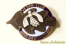"Vespa de metal-placa ""Vespa-club de alemania"" - VCD emblema esmaltes email"