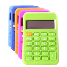 Student Mini Electronic Calculator Candy Color Calculating Office Supplies GiftB