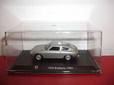 1000 bialbero 1961 collection ABARTH Italie 1/43 METRO hachette