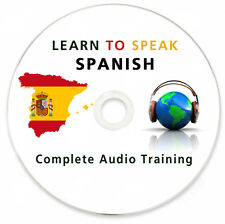Learn To Speak Spanish - Complete Language Training Course on MP3 DVD & Ebook