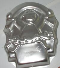 1998 Wilton Barney Birthday Party Cake Pan Dinosaur Baking Mold Tin 2105-3450