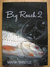 Signed x 2 BIG ROACH 2 Fishing Book Mark Wintle no Carp Barbel Perch SOLD OUT