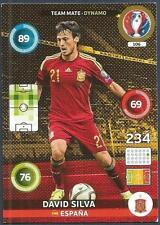 PANINI EURO 2016 ADRENALYN XL CARD- #106-ESPANA-SPAIN-DYNAMO-DAVID SILVA