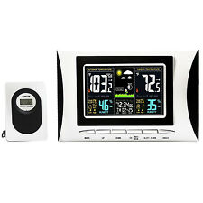 Home Digital Wireless LCD Weather Station,Temperature,Humidity w/ Sensor
