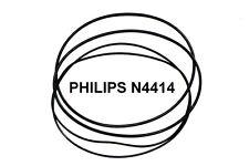 SET CINGHIE PHILIPS N4414 N 4414 REGISTRATORE A BOBINE BOBINA NUOVE FRESCHE!!!