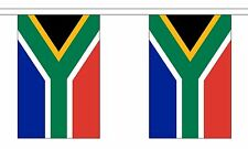 SOUTH AFRICA 3 METRE BUNTING 10 FLAGS flag 3M AFRICAN