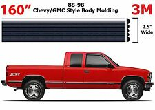 "160"" Roll Chrome Body Side Molding For 1988-1998 Chevrolet GMC Full Size Trucks"