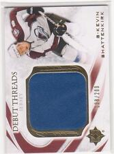 2010/11 UD Ultimate Collection Debut Threads Kevin Shattenkirk RC 138/200 jersey